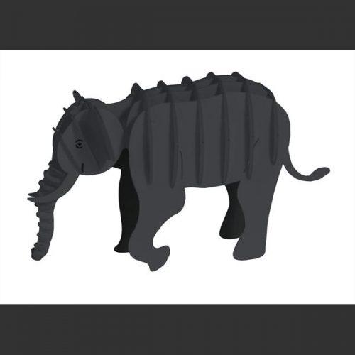 3D puzzel en bouwpakket karton model olifant