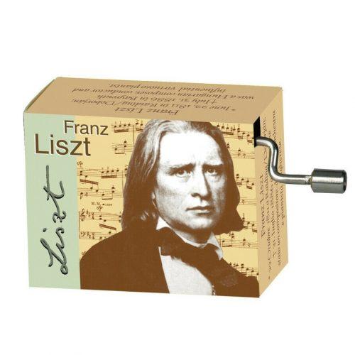 Muziekdoosje klassieke muziek Franz Liszt Liebestraum
