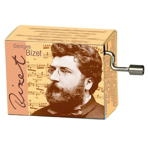 Muziekdoosje klassieke muziek Georges Bizet Carmen Habanera