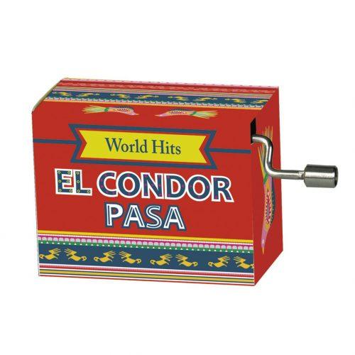 Muziekdoosje El Condor Pasa uit de serie wereldhits